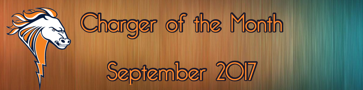 Student of the Month Banner - September