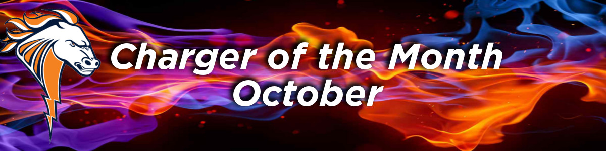 Student of the Month Banner - October